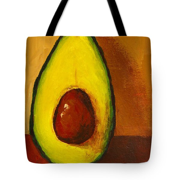 Avocado Palta 7 - Modern Art Tote Bag