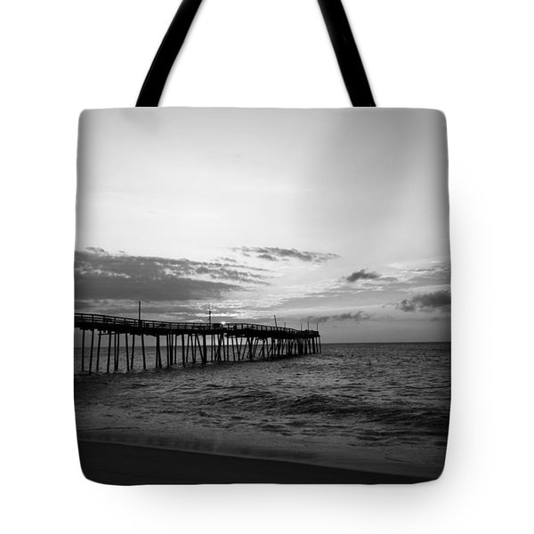 Avon Pier In Outer Banks Nc Tote Bag