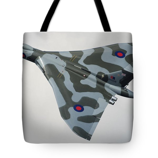 Avro Vulcan B2 Tote Bag by Tim Beach