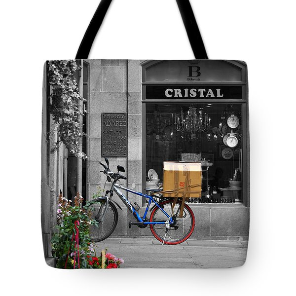 Awaiting Delivery Tote Bag