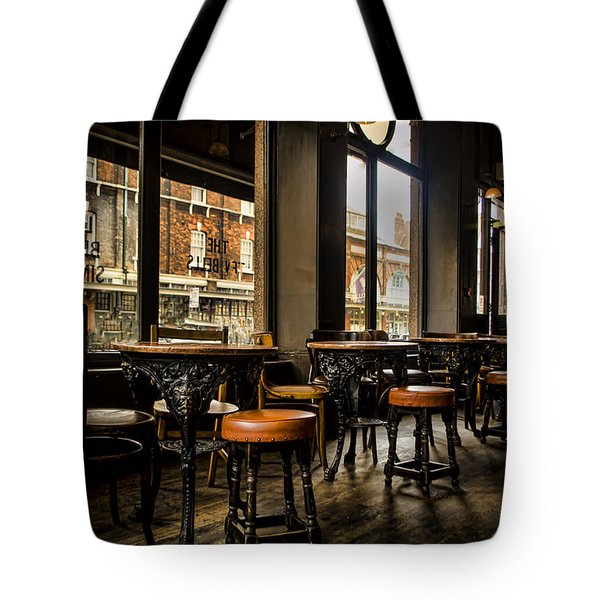 Awaiting Patrons Tote Bag by Heather Applegate