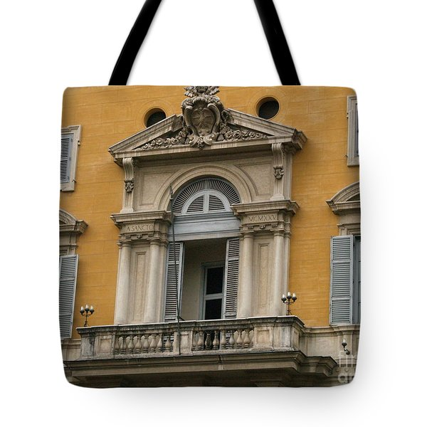 Tote Bag featuring the photograph Awaiting The Pope by Robin Maria Pedrero