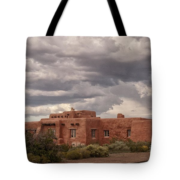 Awaiting The Storm Tote Bag