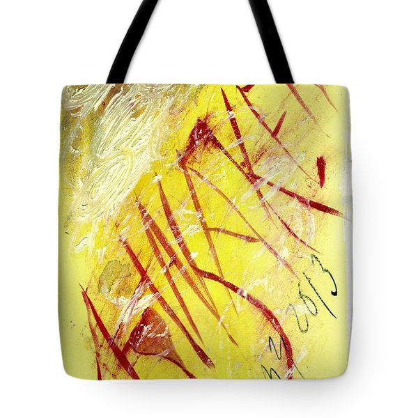 Tote Bag featuring the painting Awaken 2013 by Lesley Fletcher