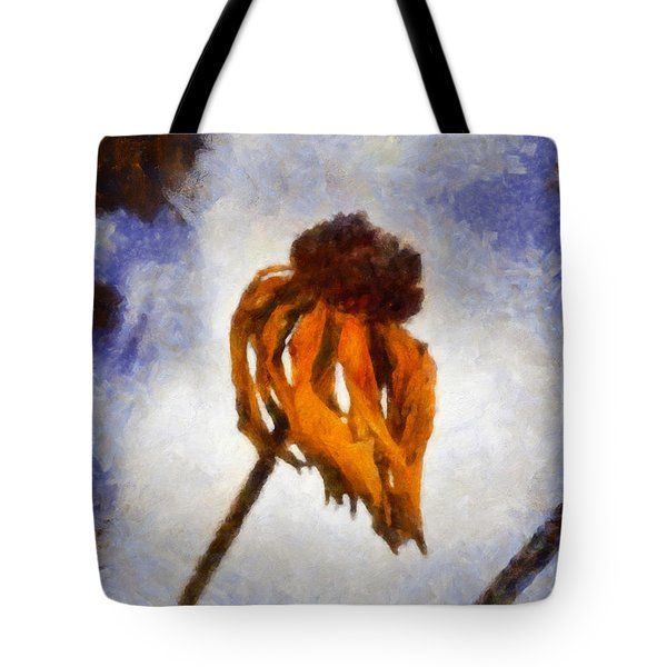 Tote Bag featuring the painting Awaken A New Life by Joe Misrasi