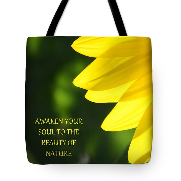 Awaken Tote Bag