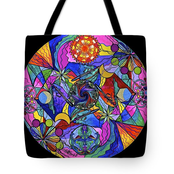 Awakened Poet Tote Bag