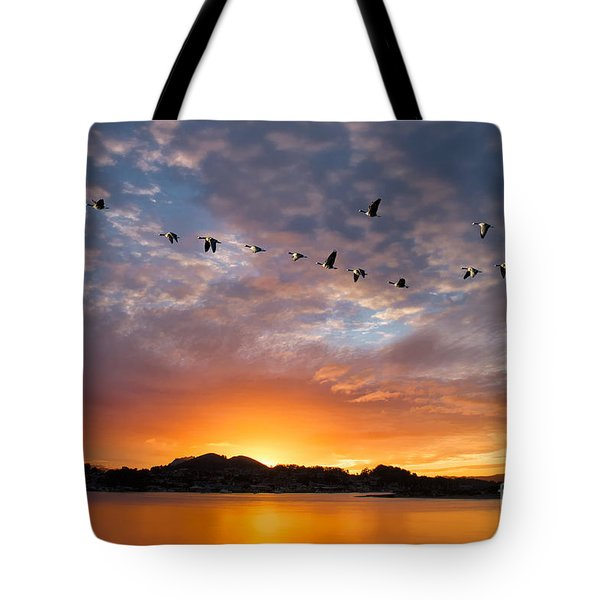 Awakening Tote Bag by Alice Cahill