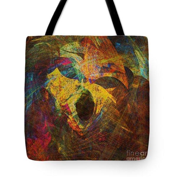 Awakening Tote Bag by Klara Acel