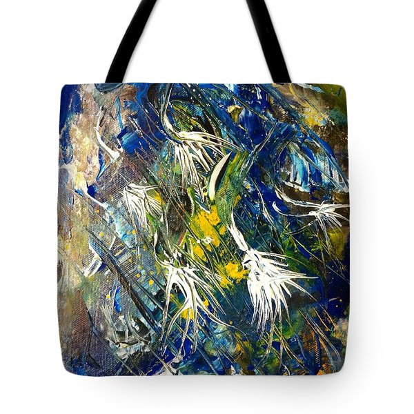 Awakening The Bear Tote Bag