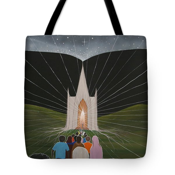 Awakening Tote Bag by Tim Mullaney