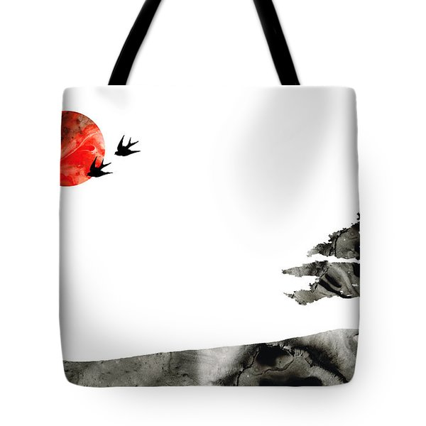 Awakening - Zen Landscape Art Tote Bag