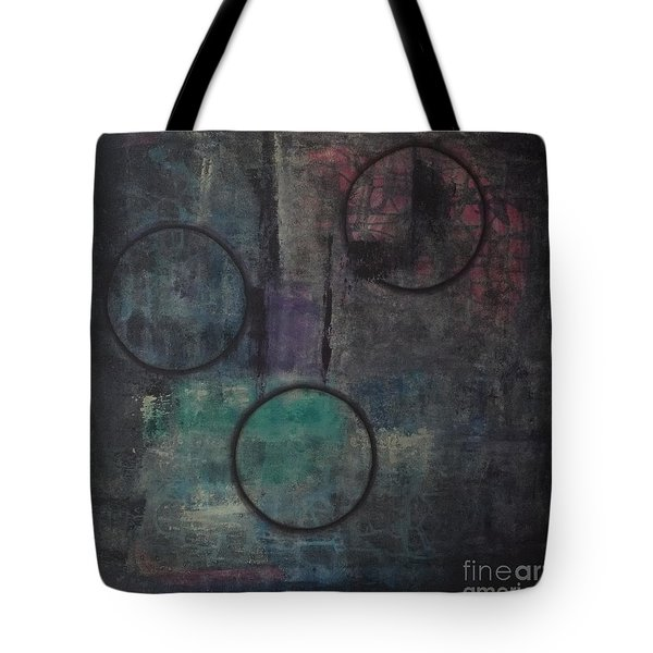 Aware Of Silence Tote Bag by Mini Arora