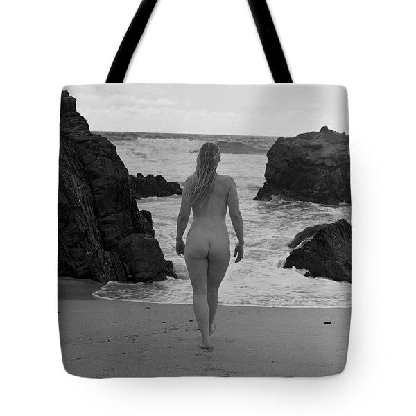 Away Number Three Tote Bag by Catherine Lau