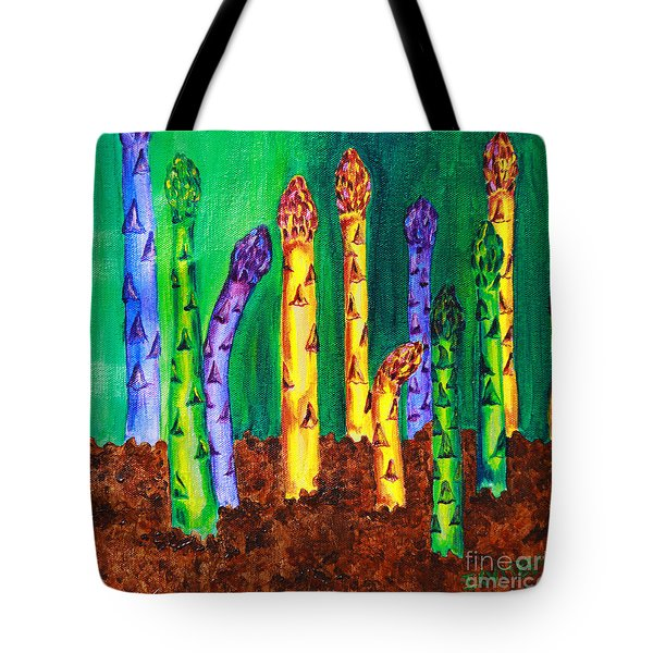 Awesome Asparagus Tote Bag