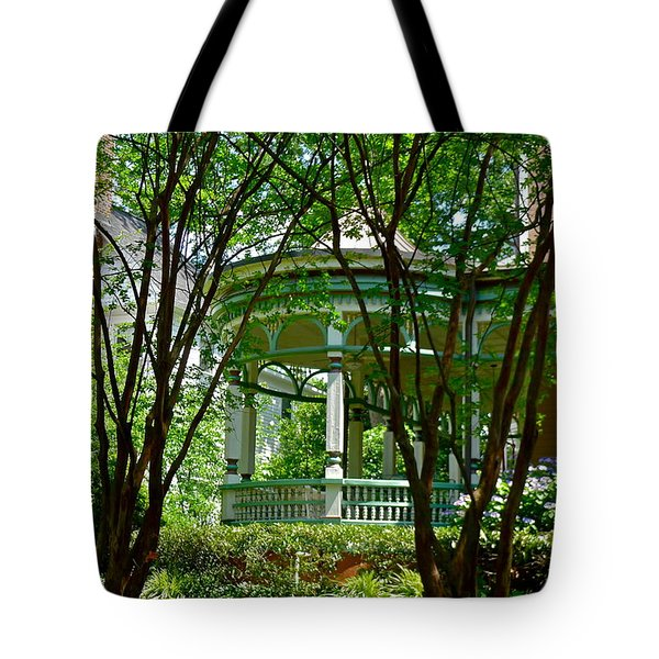 Awesome Victorian Porch Tote Bag