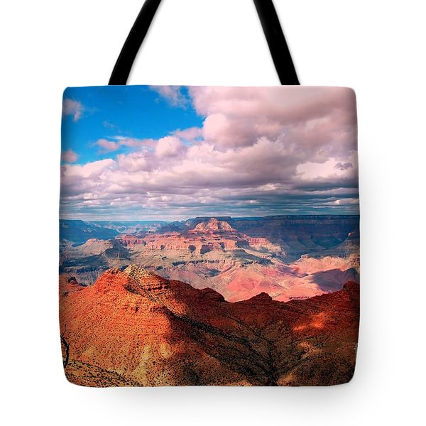 Awesome View Tote Bag by Kathleen Struckle