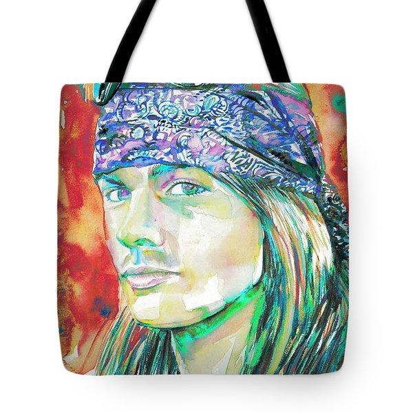 Axl Rose Portrait.2 Tote Bag