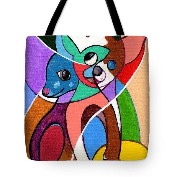 Ay Chihuahua Tote Bag