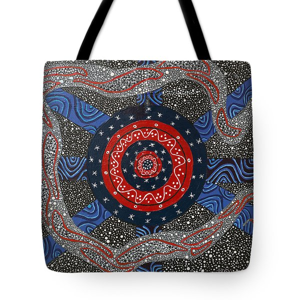 Ayahuasca Eclipse Tote Bag