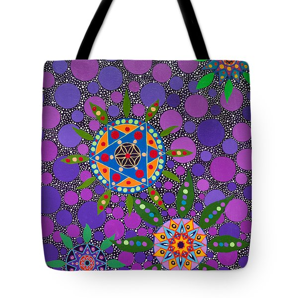 Ayahuasca Vision - The Healing Power Of Plants Tote Bag
