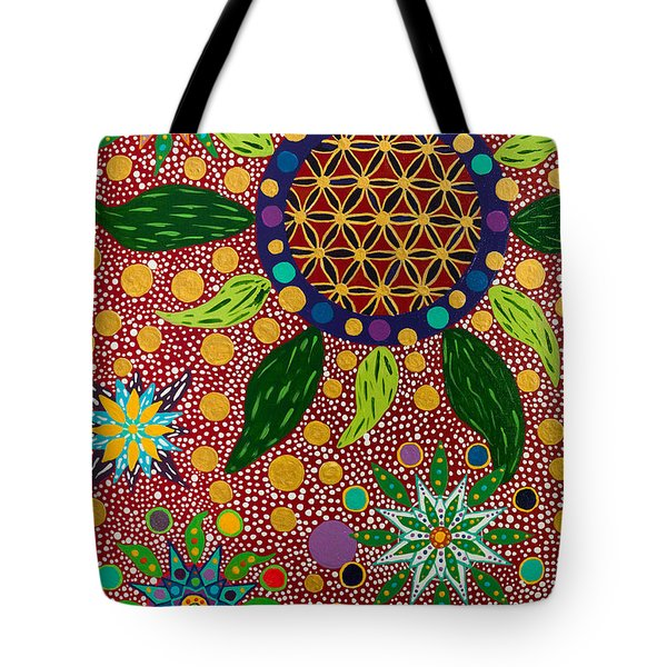 Ayahuasca Vision - The Opening Of The Heart Tote Bag