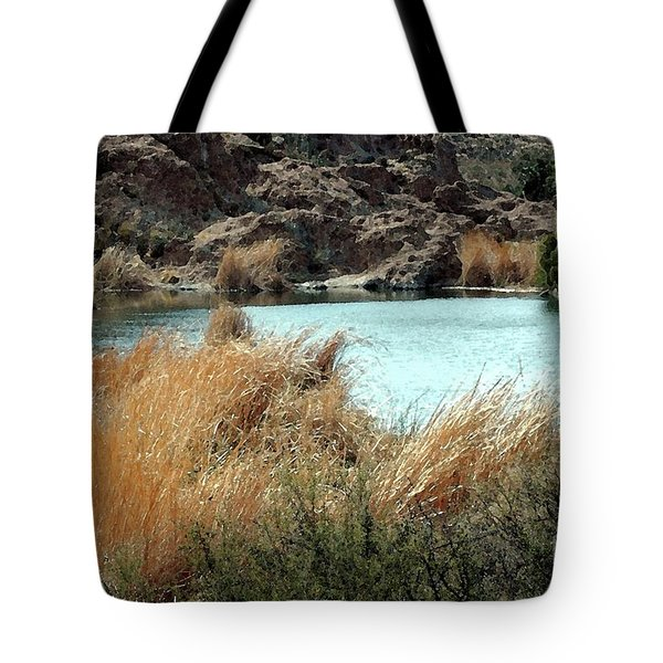 Ayer Lake Tote Bag by Kathleen Struckle