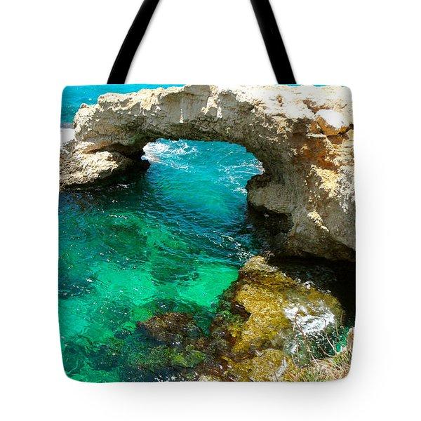 Ayia Napa In Cyprus Tote Bag