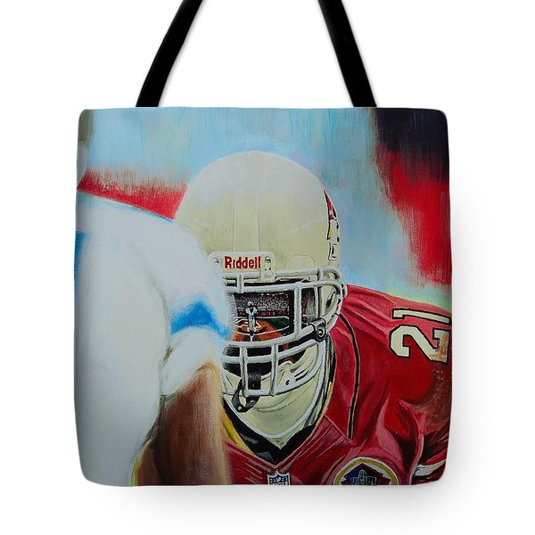 Az Cardinals Patrick Peterson Tote Bag