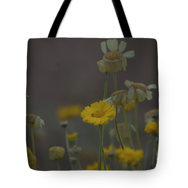 Tote Bag featuring the photograph Az Flowers by Rod Wiens