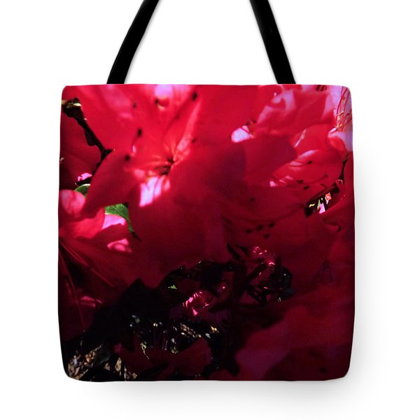 Tote Bag featuring the photograph Azalea Abstract by Robyn King