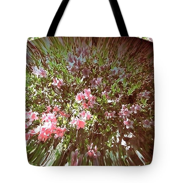 Azalea Bouquet Tote Bag