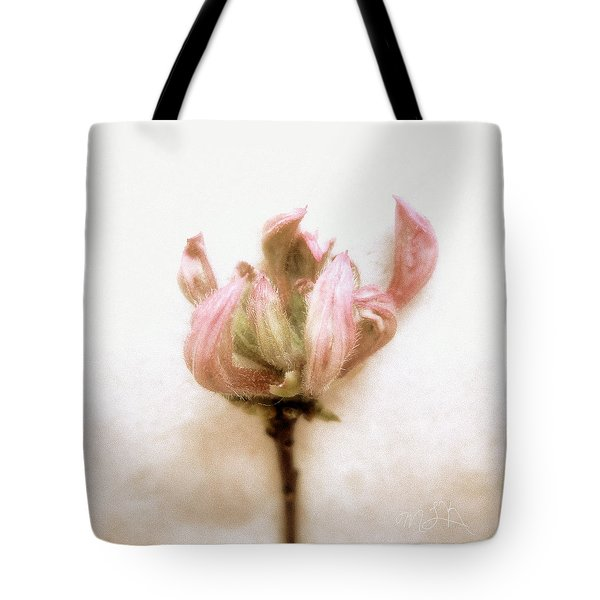 Azalea Bud Tote Bag by Louise Kumpf