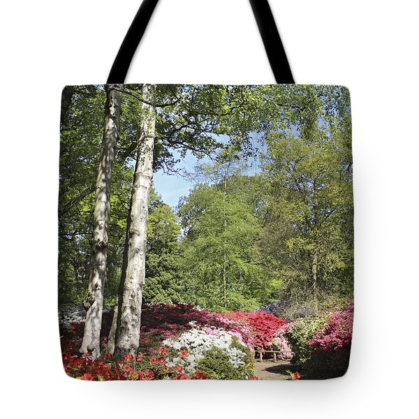 Azalea Flowers Tote Bag