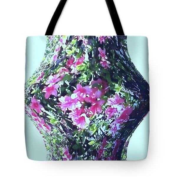Azalea Vase Tote Bag by Pamela Hyde Wilson