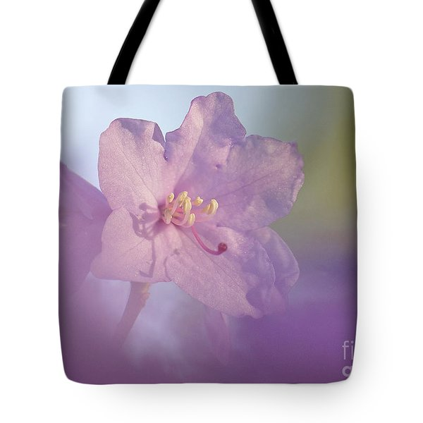 Tote Bag featuring the photograph Azealia  by Inge Riis McDonald