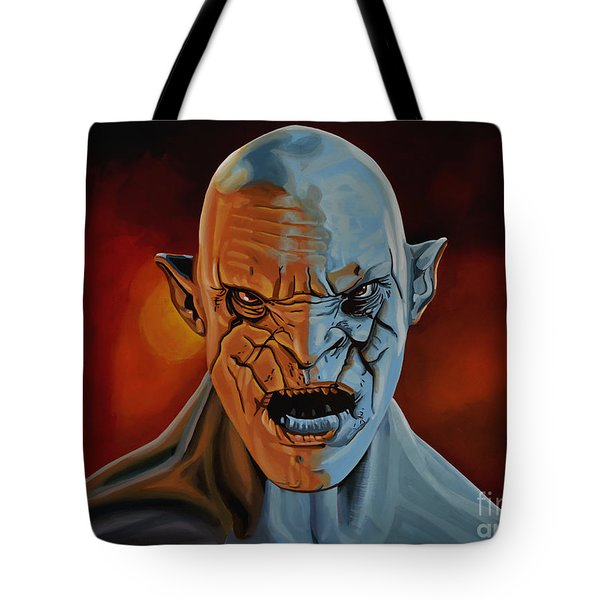 Azog The Orc Painting Tote Bag