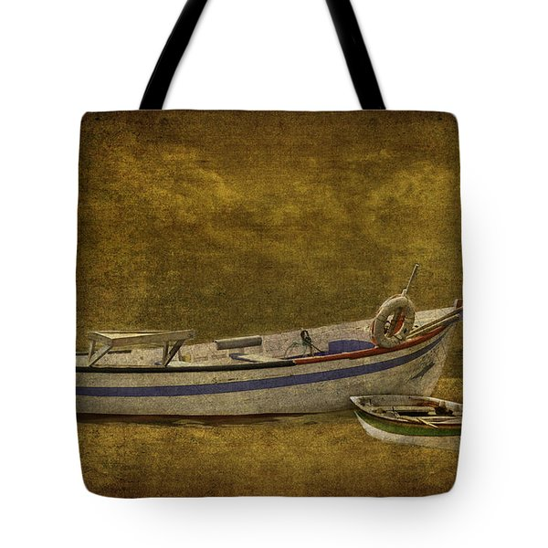 Azorean Fishing Boats Tote Bag