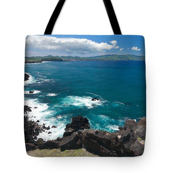 Azores Islands Ocean Tote Bag by Gaspar Avila