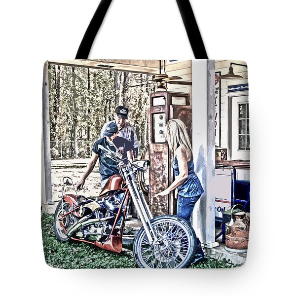 Tote Bag featuring the digital art Aztec 101 Artwork    by Lesa Fine