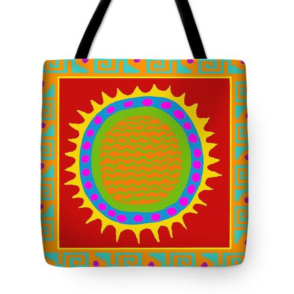 Aztec Del Sol Tote Bag