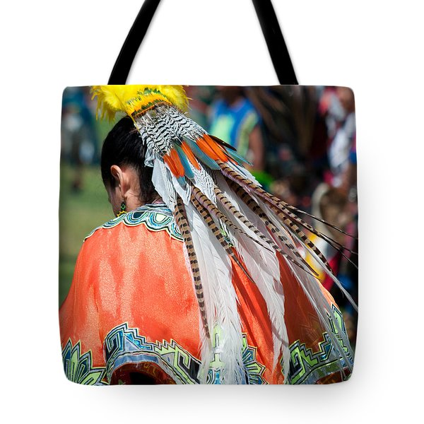 Aztecan Ceremony 6 Tote Bag by Gwyn Newcombe
