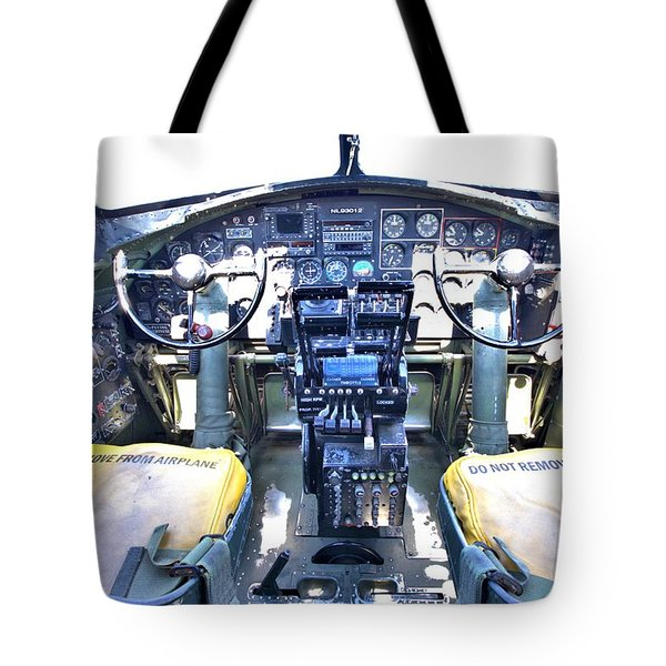 B-17 Front Office Tote Bag