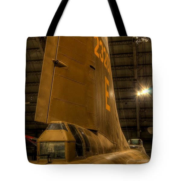 B-17 Tail Gunner Tote Bag