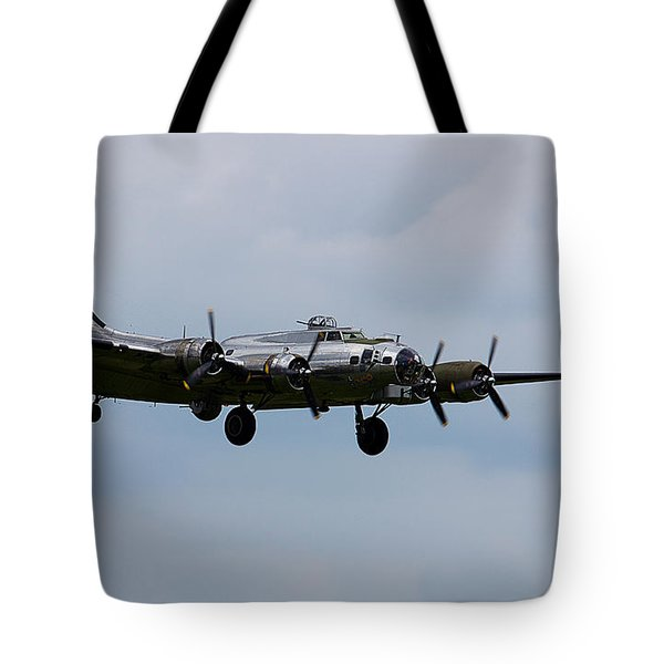 B-17 Yankee Lady Tote Bag