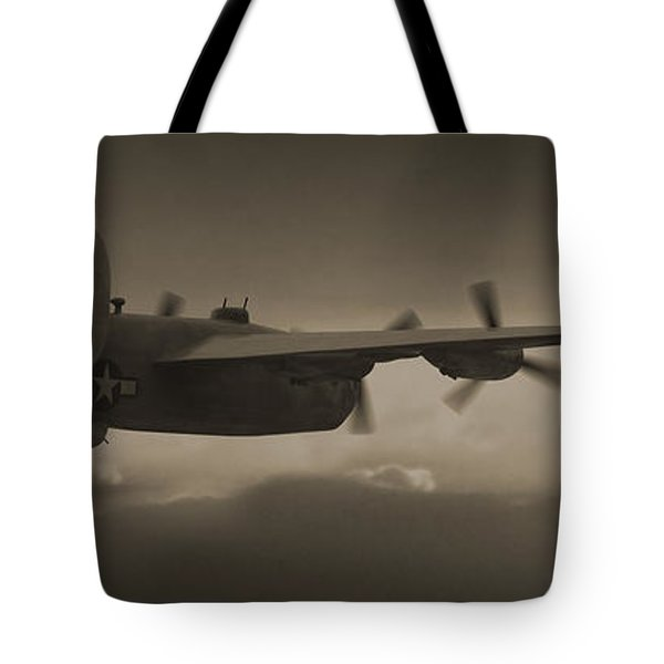 B - 24 Into The Sun Panoramic Tote Bag