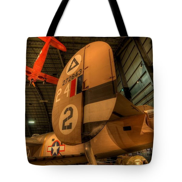 B-24 Liberator Tail Tote Bag