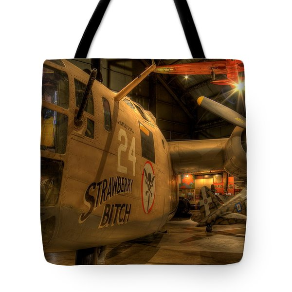 B-24 Strawberry Bitch Tote Bag