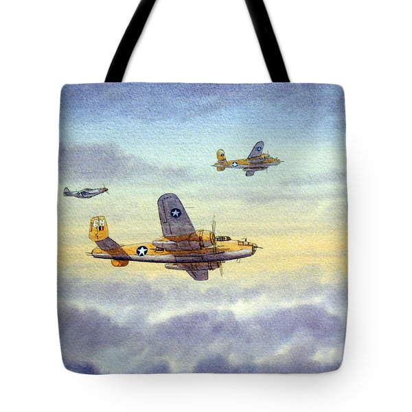 B-25 Mitchell Tote Bag
