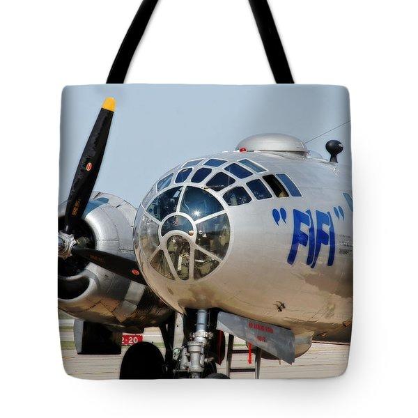B-29 Bomber Fifi Tote Bag